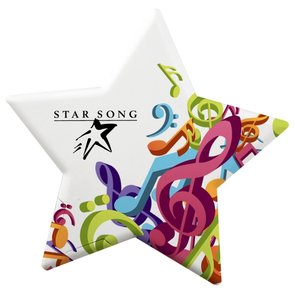 Star Shaped Mint Card with MicroMints (R)
