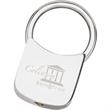 Silver Twist Lock Key Holder