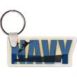 Navy Logo Key Tag