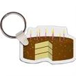 Birthday Cake with Sprinkles Key Tag