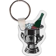 Champagne on Ice Key Tag