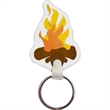Campfire Key Tag
