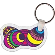 Easter Eggs Key Tag