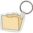 File Folder Key Tag