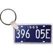 License Plate Key tag