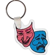 Theater Mask Key tag
