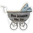 Old Baby Carriage Magnet