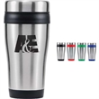 16 oz Insulated Stainless Steel Travel Tumbler - 16 oz Insulated Stainless Steel Travel Tumbler with Lid