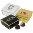 Four Chocolate Truffles in Box