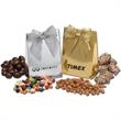 Deluxe Gift Bag with Ribbon and Trail Mix - Deluxe Gift Bag with Ribbon and Trail Mix