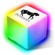 Light Box - Fun, color-changing LED light box.