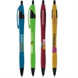 Metallic Dart Pen - Plunger action retractable ballpoint pen with popular contoured design.