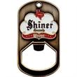 Dog Tag Key Ring with Internal Bottle Opener - Custom die struck dog tag key ring with internal bottle opener.