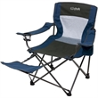 Foldable Chair w/Foot Rest - Foldable Chair w/Foot Rest