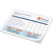 "Custom Printed Notepad - Notes - 6"" x 8"", 50 sheets, 1 color - custom printed notepads."
