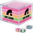 Post-it(R) Custom Printed Versatile Container - Versatile container, holds paper clips, rubber bands and more.