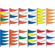 Fluorescent or Regular Plasticloth Antenna Pennants Kit