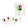 Sugar-Free Rainbow Lollipop