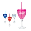 Cool Gear (TM) Wine Glass with Lid - 12 oz - Wine Glass with Lid - 12 oz. Keep your wine cool on those hot summer