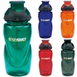Glacier Bottle - 20 oz - Sport bottle with flip top drink-thru lid and ounce chart, 20 oz.