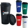 Double Wall PP Tumbler with Black Lid - 17 oz