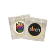 Individual Condom w/ Round 4 Color Process Printing Decal