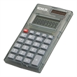 Mini Desk Calculator With Battery And Solar Power