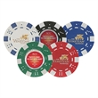 11.5 g Professional Clay Poker Chips w/ 4 Color Process