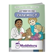 Coloring Book: My Visit to the Pharmacy - Coloring book about a trip to the pharmacy.