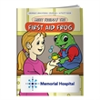 Coloring Book: First Aid Frog - First aid frog coloring book.