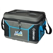 "Coleman 45 Can Collapsible Cooler - 16""x 12"" x 11 1/2"" 45-can cooler with heat-welded seams, collapsible interior and four cup holders in the top from Coleman"