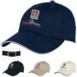 Soft-Crown Cap - Soft-crown cap is a sporty way to advertise.