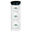 Par Pack with 3 Balls - Nike (R) NDX Heat - Clear tube with three imprinted golf balls.