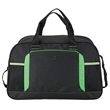 "Duffel Bag - 8.75"" x 11"" x 18"" duffel bag with color accents; includes 1 5/8"" x 48"" adjustable shoulder strap."