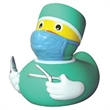 Doctor Rubber Duck - Rubber duck with doctor theme