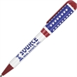 USA made flag pen - Twist action flag pen, perfect for any patriotic event.