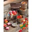 Sixlets - 1 Color in Large Round Window Tin - Large Round Window Tins Filled With Sixlets - Single Color