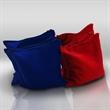 "Blank Cornhole Game Bag - Cornhole Game Bag, hand sewn from 10 oz. duck cloth, 6"" x 6""."