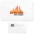 Full-Color Credit Card USB 2.0 Flash Drive - Full-Color credit card shape USB 2.0 flash drive.
