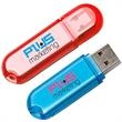 Oval Translucent USB 2.0 Flash Drive - Oval translucent USB 2.0 flash drive. Unattached black lanyard included.