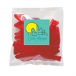 "Swedish Fish® in Sm Label Pack - 4"" x 4: small pack filled with 2 oz. of Swedish Fish®; includes four color process label."