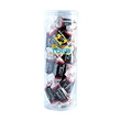 Tootsie Roll® Candy in Lg Fun Tube - Large fun tube filled with 7 ounces of Tootsie Rolls®; includes a four color process imprinted label.