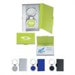 2 In 1 Key Tag/Business Card Holder - Two in one key tag and business card holder.