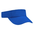 Low Crown Cotton Twill Visor - Low Crown Cotton Twill Visor with Hook and Loop Closure.