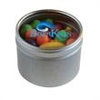 Runts in Small Round Window Tin - Small Round Window Tins Filled With Runts