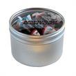 Tootsie Rolls in Large Round Window Tin - Large Round Window Tins Filled With Tootsie Rolls