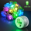 Flashing jade green LEDs for Arts and Crafts