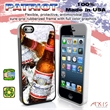 Patriot iPhone 5/S Case - Red  - iPhone 5/S case with fullback image - made in the USA