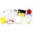 """Memo Board - Memo board 5 1/2"""" x 8 1/2"""" with 1 dry erase marker with self adhesive hook & loop pen holder & 2 attached magnets on back"""