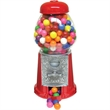 """Gumball Machine 9 inch Empty - Empty 9"""" coin operated gumball machine with classic red metal and glass design."""